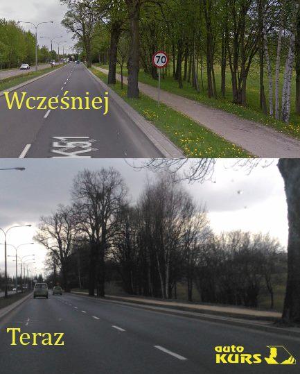 Ograniczenie prędkości Olsztyn